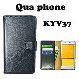 【7カラー】 Qua phone KYV37 専用 手帳型ケース 手帳カバー ケース スマホ カバー Qua phone KYV37 au 京セラ qua phone kyv37 kyv-37 スマホケース カバー ノーブランド品