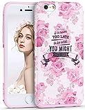 iPhone 6s ケース Imikoko iPhone6ケース アイフォン6/6s カバー iPhoneケース ソフト おしゃれ かわいい 衝撃吸収 薄型 花柄 TPU (iPhone6/6S, 薔薇)