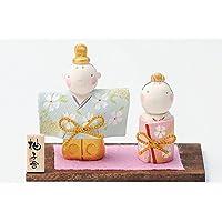 雛人形 コンパクト 人形師の手造り雛人形 柚子舎作 京雅立雛