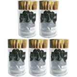 エリップスellipsヘアビタミン洗い流さないヘアトリートメント50粒入ボトル5本組(海外直送品)(並行輸入品) (黒5本)