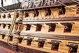 純手工芸コレクション勝利号木質シミュレーション船モデルコレクション 纯手工收藏胜利号木质仿真古帆船船模摆件收藏级(AA) 画像