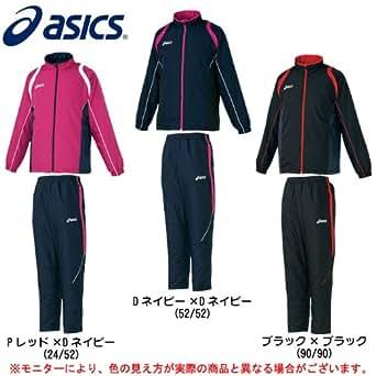 asics(アシックス) デュアルサーモ ジャケット パンツ 上下セット 【男女兼用サイズ展開】 (XA736N/XA756N) (S, ホワイト×ホワイト(01/01))
