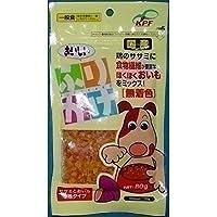 (まとめ買い)九州ペットフード おいしいふりかけ ササミとおいも 小粒タイプ 80g 【×12】