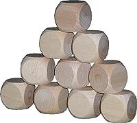 ブランク 29mm の 1.pro 購入立方体の木製の立方体の立方体の立方体の演劇の立方体のブナ