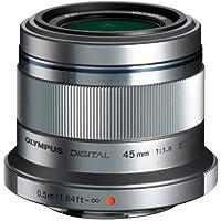 Olympus M. Zuiko Digital ED 45mm f1.8 (Silver) Lens for Micro 4/3 Cameras - International Version (No Warranty) [並行輸入品]