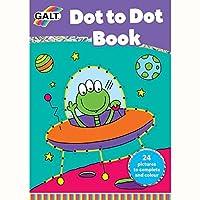 Galt Toys Inc Dot to Dot Book [Floral] [並行輸入品]