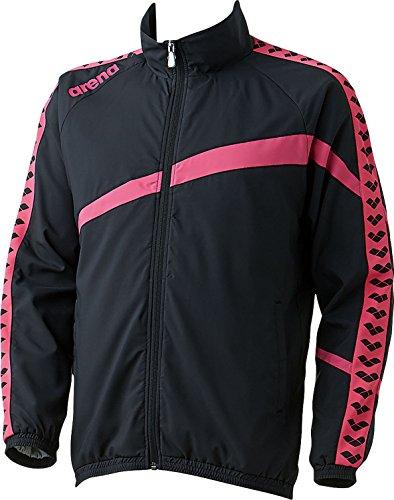 ウィンドジャケット M ブラック/ピンク 1着 DS ARN6300 BKPK デサント