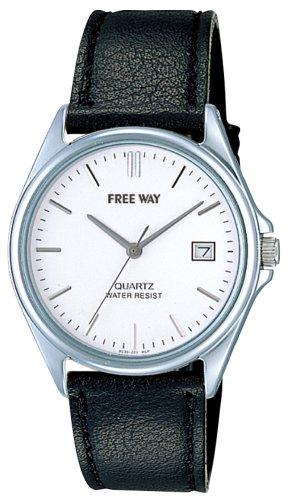Q&Q 腕時計 FREE WAY(フリーウェイ) ストラップコレクション アナログ表示 ホワイト AA92-9952 メンズ シチズン