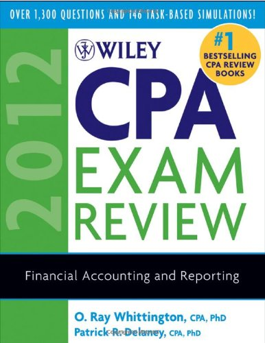 Download Wiley CPA Exam Review 2012, Financial Accounting and Reporting 047092392X