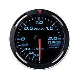日本精機 Defi (デフィ) メーター【Racer Gauge】52φ ターボ計 (ブルー) DF06504