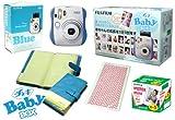 FUJIFILM インスタントカメラ チェキ instax mini 25 ブルー Baby box