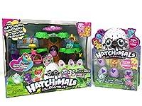 Hatchimals CollEGGtibles The Hatchery Nursery and 4-Pack + Bonus (Styles & Colors May Vary) Bundle [並行輸入品]
