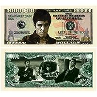 Set of 10 - Al Pacino Scarface Million Dollar Novelty Bill by American Art Classics [並行輸入品]