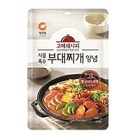 チョンジョンウォン グルメレシピ トラディショナル ブデチゲ(鍋 )ソース 140g Korea Food 韓国(並行輸入品)