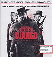 Django Unchained Blu-Ray DVD Combo Pack with Exclusive Bonus Disc