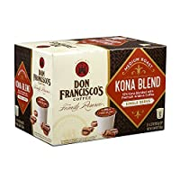 Don Francisco Family Reserve Single Serve Coffee, Kona Blend, 12 Count, (Packaging may vary) by Don Francisco