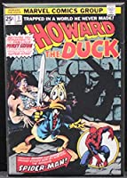Howard the Duck # 1 Comic cover – 冷蔵庫マグネット。