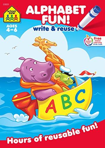 Alphabet Fun: Write & Reuse Ag...