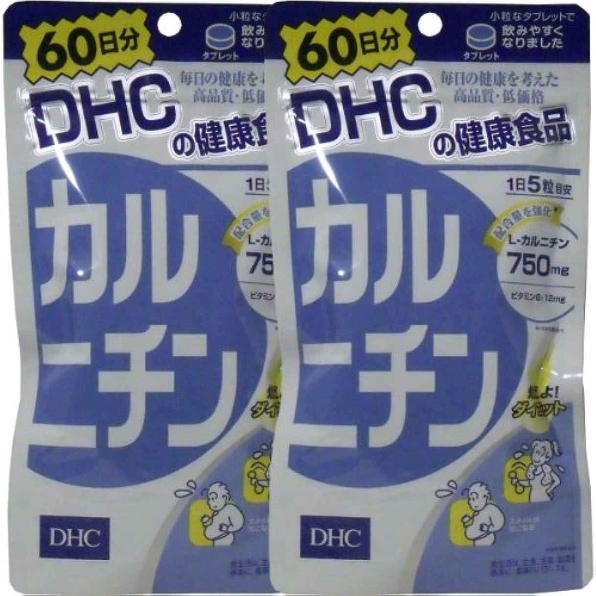広がりグリーンバック精緻化DHC カルニチン 300粒 60日分 ×2個セット