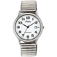 [シチズン キューアンドキュー]CITIZEN Q&Q 腕時計 Falcon ファルコン アナログ ブレスレット 日付 表示 ホワイト D014-204 メンズ