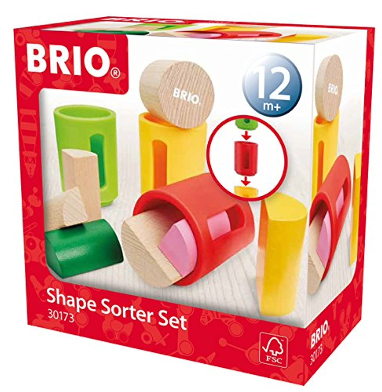 BRIO シェイプソーター 30173