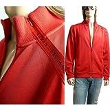 ジャージートラック ジャケット 肩ロゴジップ 赤 10007976 アルマーニ・エクスチェンジ(A/X)画像①