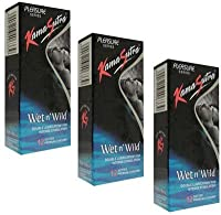 Kamasutra Wet N Wild Dotted Condom(set of 2, 24 Condoms)(Ship from India)