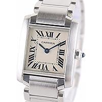 [カルティエ] Cartier タンクフランセーズSM 腕時計 ウォッチ シルバー ステンレススチール(SS) W51008Q3 [中古]