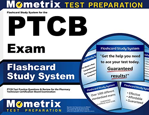 Download Flashcard Study System for the PTCB Exam: PTCB Test Practice Questions & Review for the Pharmacy Technician Certification Board Examination 1610728009