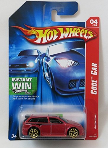 2007 Hot Wheels Code Car Audacious