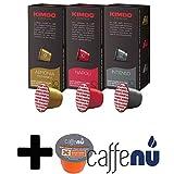 Best イタリアのエスプレッソ - ネスプレッソ マシーン用 キンボ コーヒー 互換 カプセル 3種 各1箱 Review