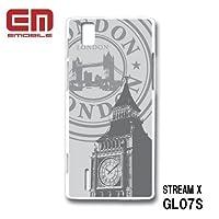 ストリームX STREAM X GL07S スマホケース カバー ロンドン RB-445E