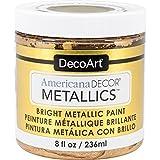 (24K Gold) - Decoart Americana Decor Metallics 240ml 24K Gold