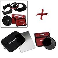 WonderPana FreeArc Essential ND 0.9se kit-coreフィルタホルダー、レンズキャップ、wp66ブラケット、0.9ソフトエッジGrad ND & 145mm nd16フィルタfor Olympus 7–14mm f / 2.8M。ZUIKOデジタルEd Proレンズ( micro-4/ 3)