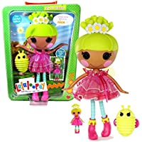 MGA Entertainment Lalaloopsy Sew Magical! Sew Cute! Limited Edition 12 Inch Tall Button Doll - Pix E. Flutters with Pet Green Firefly and Bonus Mini 3 Inch Doll by Lalaloopsy [並行輸入品]