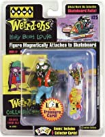 """Weird-ohs Collectible Figure - """"Leaky Boat Louie"""" and Skateboard: Includes 5 Bonus Collector Cards! by J Lloyd"""