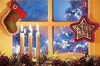 CSFOTO クリスマス背景 冬 写真背景