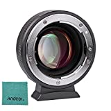 Viltrox NF-M43X レンズマウント アダプターリング 手動フォーカス Nikon G D用M4 / 3カメラ Andoer クリニングクロス付き