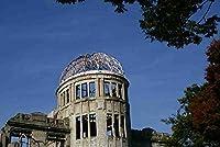 【日本の風景/広島のポストカード】広島原爆ドームのはがきハガキ photo by MIRO