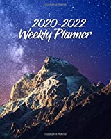 2020-2022 Weekly Planner: 3 Year Pretty Star Sky Daily Planner & Organizer with Weekly Spread Views - Three Year (36 Months) Agenda with To-Do's, Inspirational Quotes, Notes & Vision Boards