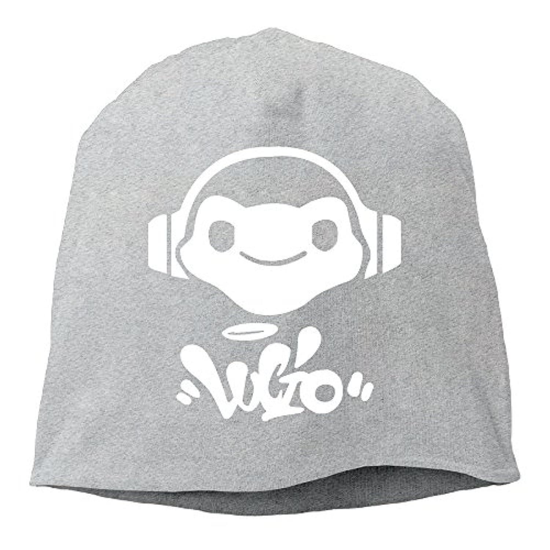 CIDY 男女兼用 オーバー ゲーム ウォッチ ルシオ カエル イメージ ビーニー 帽子 個性的な オールシーズン 登山 グレー