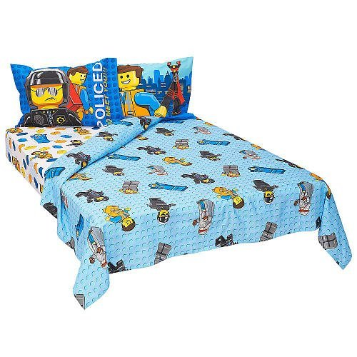 LEGO Movie 4-Piece Full Sheet Set - Frenzy [並行輸入品]