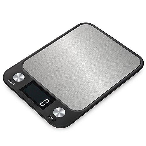Leiking はかり 電子 はかり デジタルスケール 10kg/1g 風袋機能、デジタル台はかり はかり 料理 デジタルクッキングスケール