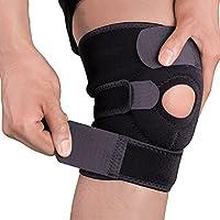 膝サポーター 膝 痛み 固定/関節 靭帯 保護 半月板 怪我防止用 ひざ サポーター登山 ランニング バスケ テニス アウトドア スポーツに 左右兼用 男女兼用