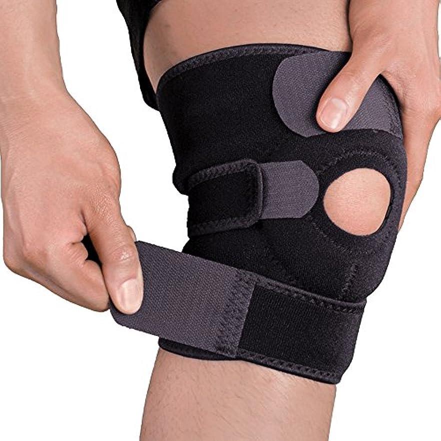 機会レンジピアニスト膝サポーター 膝 痛み 固定/関節 靭帯 保護 半月板 怪我防止用 ひざ サポーター登山 ランニング バスケ テニス アウトドア スポーツに 左右兼用 男女兼用