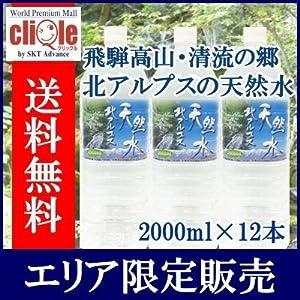 [2CS] 飛騨高山北アルプス 天然水 500ml×48本 採水地:岐阜