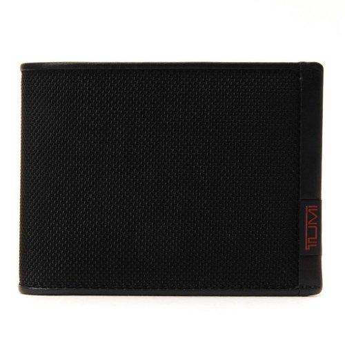 (トゥミ) TUMI 19233 ALPHA SLG ダブル ビルフォード/二つ折財布 ブラック [並行輸入品]