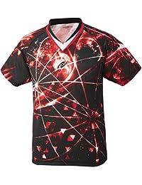 ニッタク(Nittaku) 卓球 男女兼用 ウェア ゲームシャツ スカイオーロラシャツ NW-2183