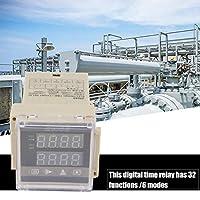 デジタルタイムリレー、ZN48デジタルタイムリレーカウンター多機能回転速度周波数計AC220V