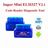 ELM327 WiFi OBD2 IIコードリーダー車診断スキャンツールFor iPhone iPad iPod Android